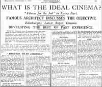 1930 Newspaper Article